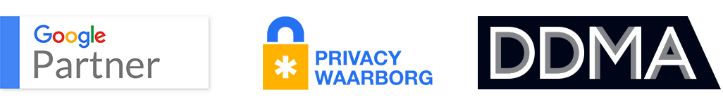 TriplePro & Google Partner, DDMA, Privancy Waarborg